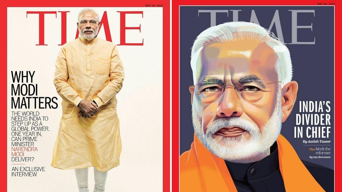 टाइम मैगजीन दुनिया के 100 प्रभावशाली लोगों में PM मोदी भी..