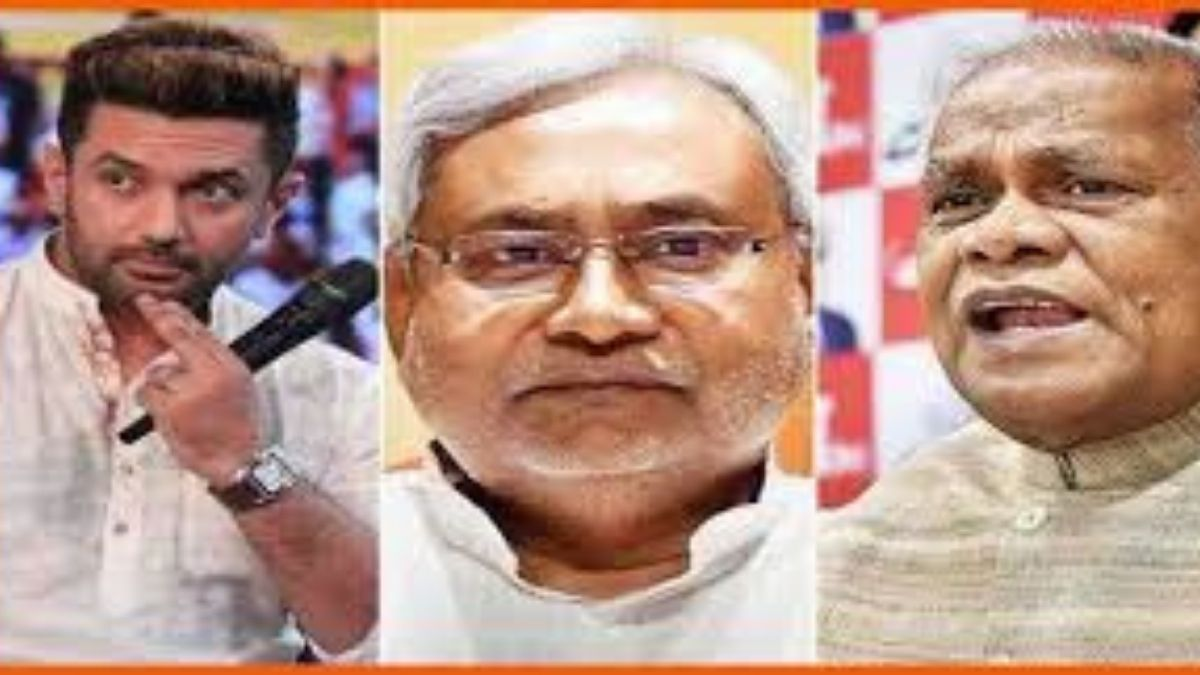 LJP ने विज्ञापन के बहाने कसा नीतीश कुमार पर तंज बचाव में उतरे मांझी ने चिराग पासवान को दिया जवाब