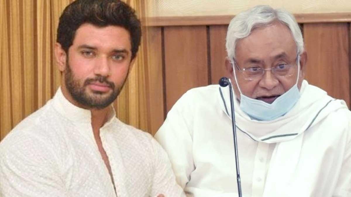 चिराग ने एक बार फिर से किया दावा, लोजपा जीतेगी जेडीयू से अधिक सीटें, नीतीश कुमार का जाना तय है...