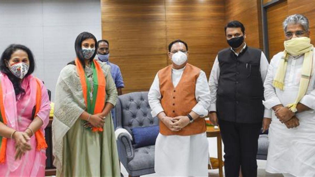 शूटर श्रेयसी सिंह ने BJP नेता जेपी नड्डा से की मुलाकात, दिग्विजय सिंह कि लाड़ली BJP में हुई शामिल