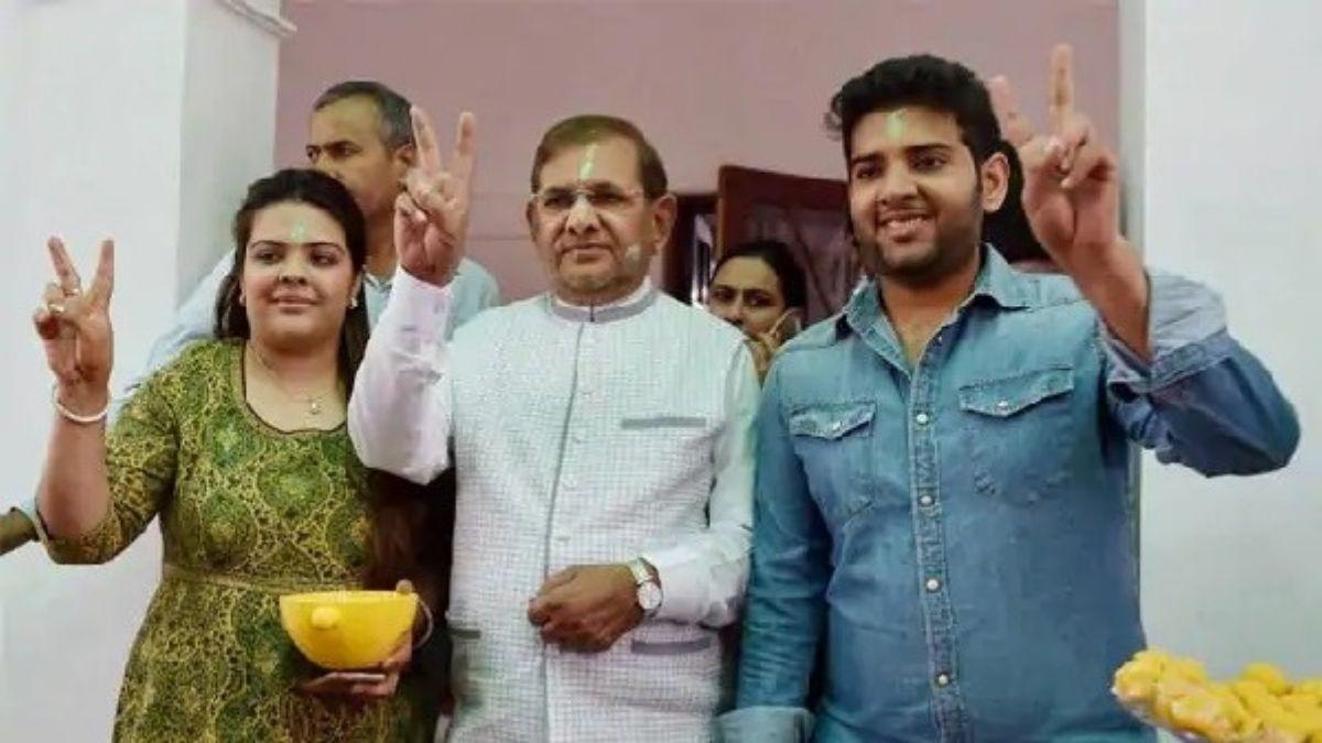सुभाषिनी राज राव कांग्रेस में हुई शामिल, संभालेंगी पिता शरद यादव कि मधेपुरा की विरासत...