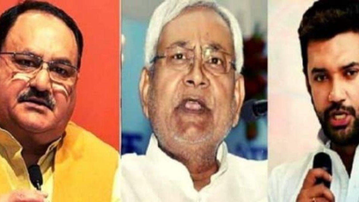 BJP सख्ती के मूड में, LJP के खिलाफ कहा- बिहार में लोजपा नहीं है NDA का हिस्सा...
