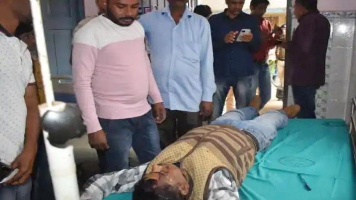 Bihar shrab mafia gang attacked police