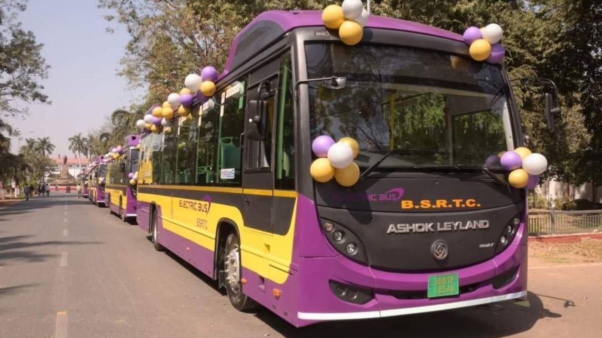 Bihar AC Electric Buses