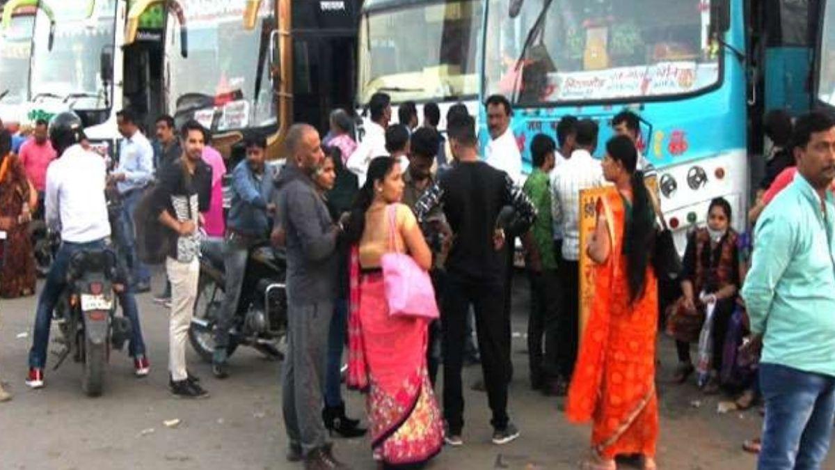 Bihar Holi bus Fair Price incresed