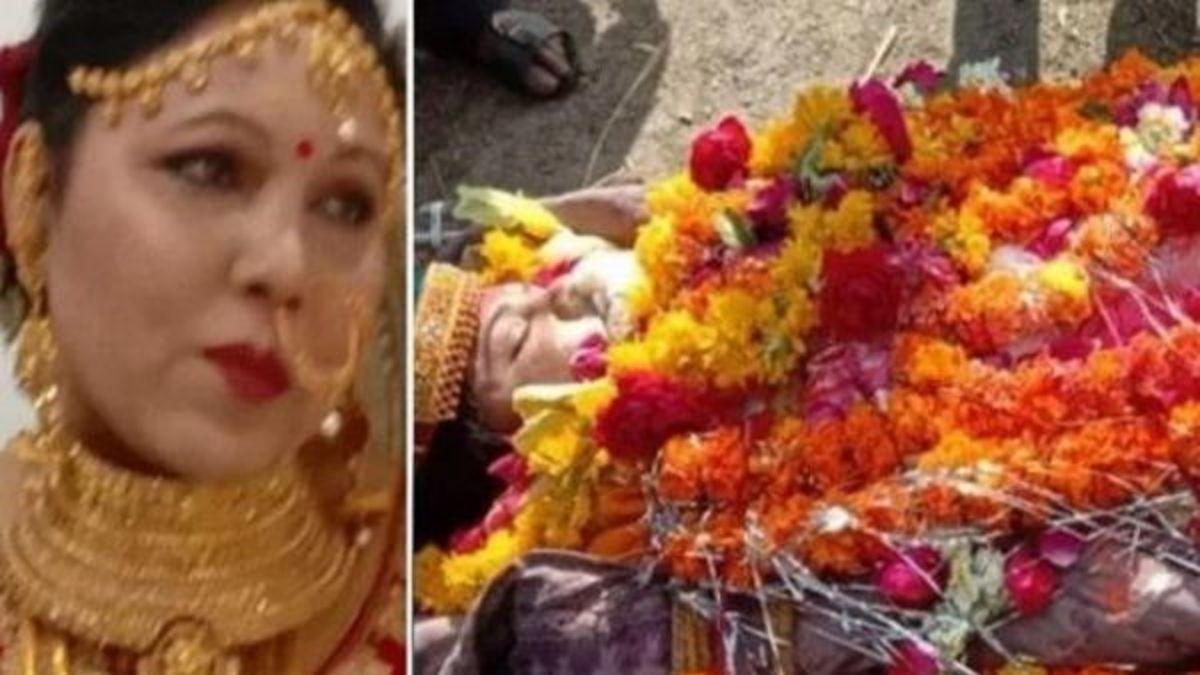 Bride died by corona virus in gujarat