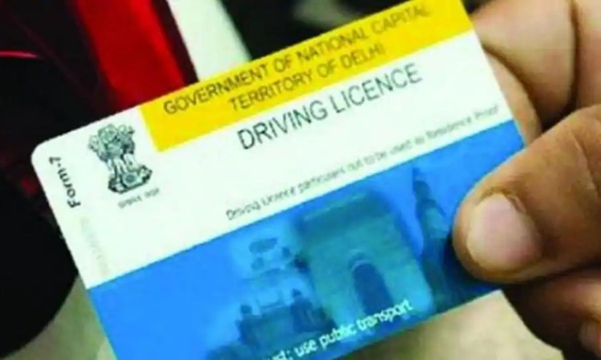 Driving license form online