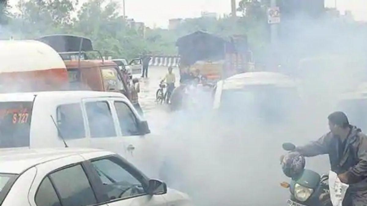bihar pollution certificate necessary on roads
