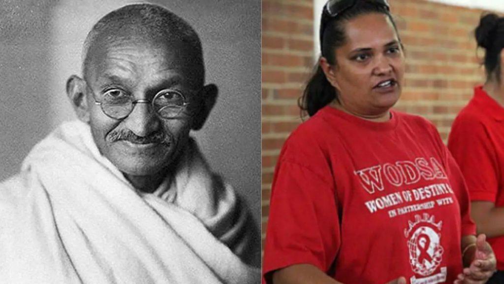 Gandhi great grand daughter