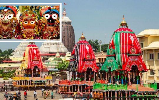 Jagannath mandir Orissa rath yatra