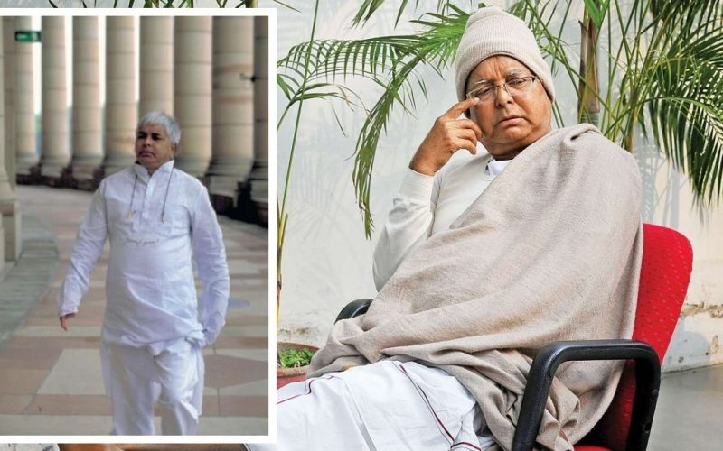 Lalu prasad yadav in parliament