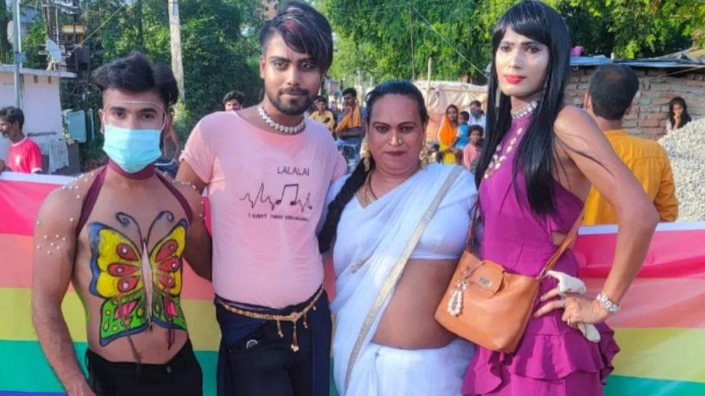 Transgenders in bihar rally patna
