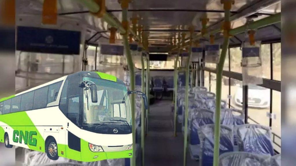 bihar 50 cng buses