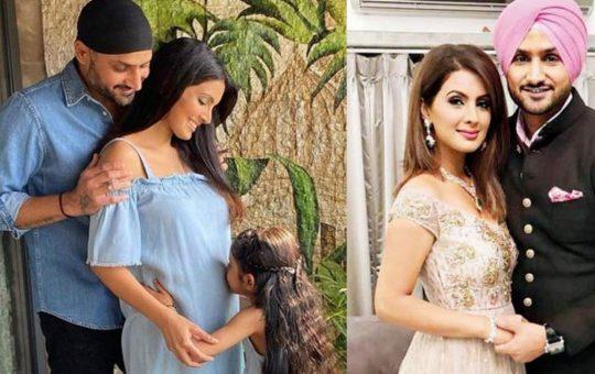 harbhajan become father of boy