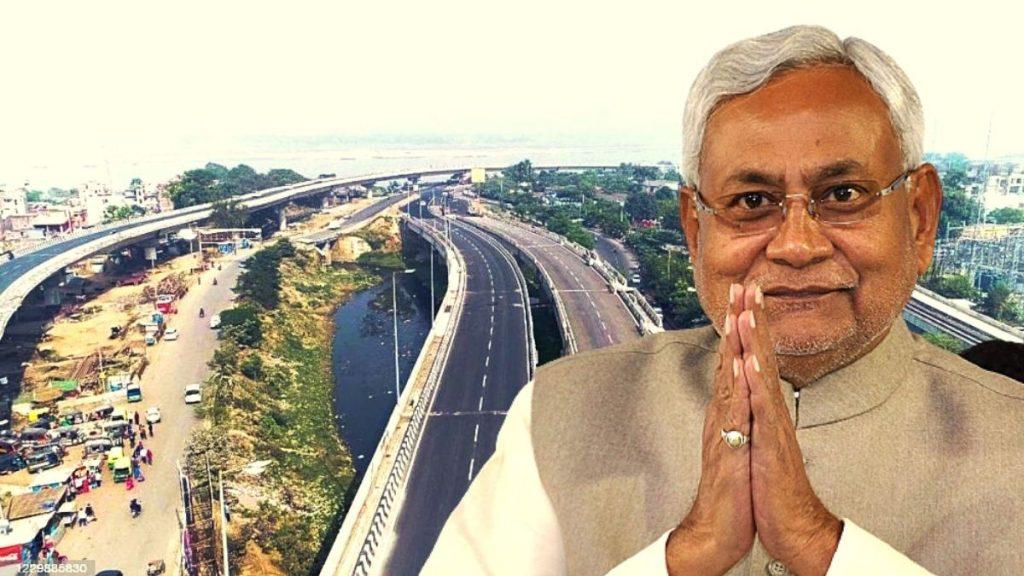 Nitish kumar 4 new road bihar inauguration