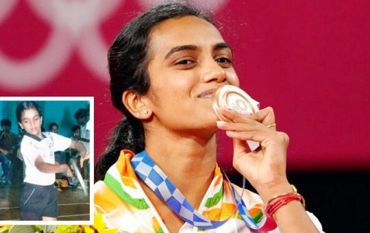 PV Sindhu Medal winner