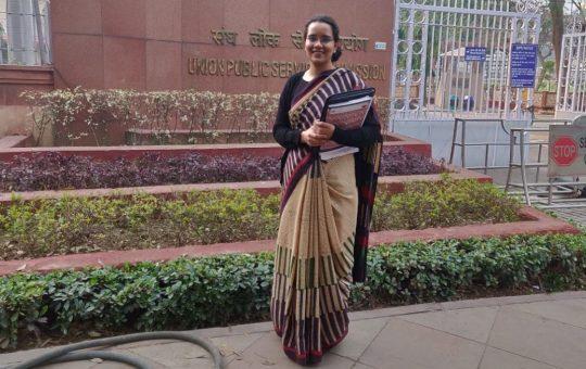 UPSC Gunjan success