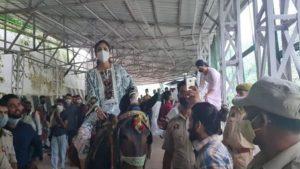 shilpa shetty at vaishno ma temple